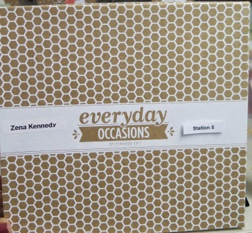 Everyday occasions card kit zena kennedy independent stampin up demonstrator
