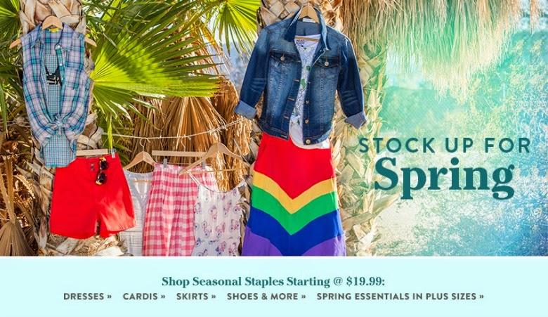 ModCloth spring fashion
