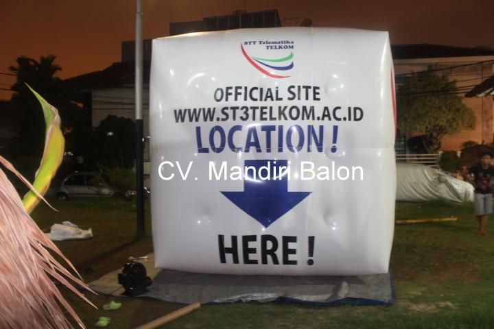 Balon Promosi ST3 TELKOM