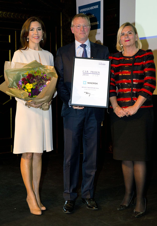 Crown Princess Mary in Copenhagen for CSR Priser