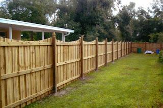 Деревянный забор. Фото 61