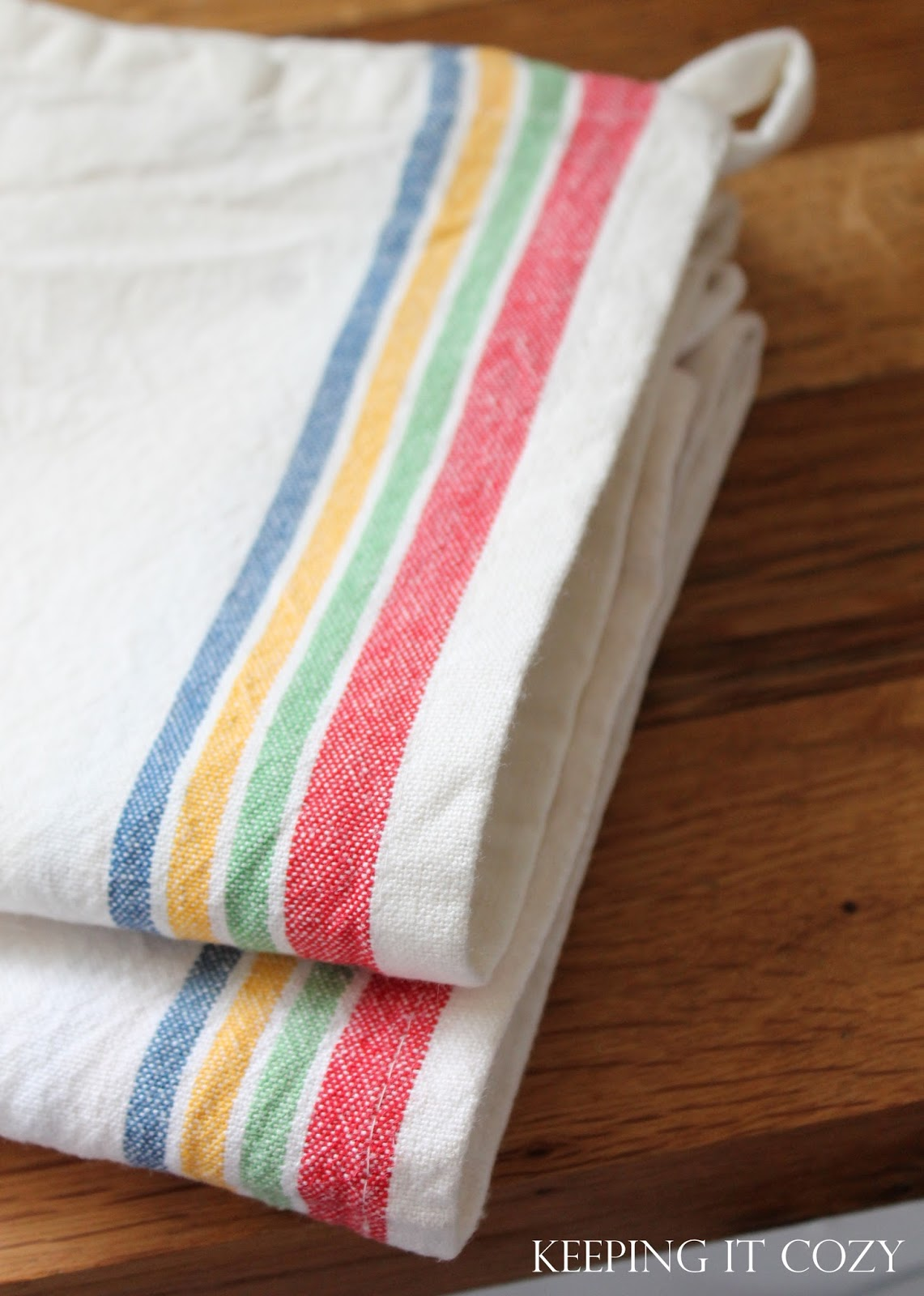 Kitchen Towel Craft Keeping It Cozy My Favorite Dish Towels