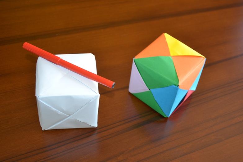 Matematica ricreativa costruire un cubo con la carta for Come costruire una casa per meno di 100k