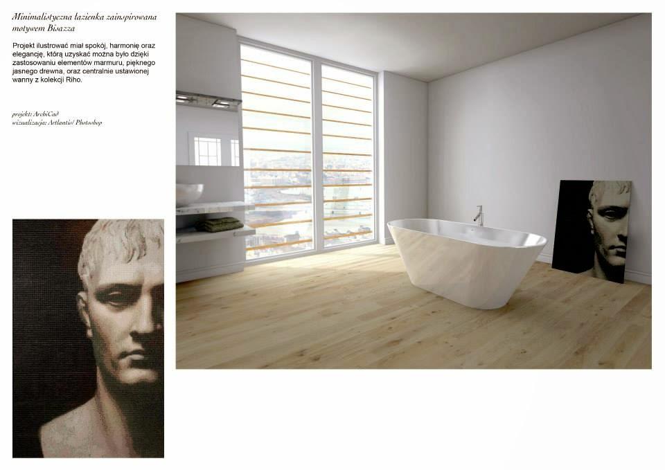 ascetyczna łazienka