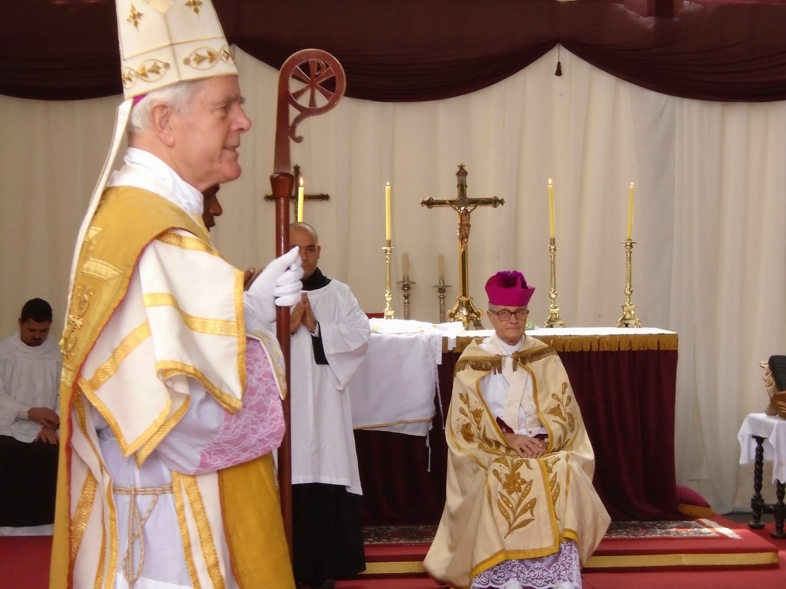 Sermon of Bishop Williamson at the 2015 consecration of Bishop Faure