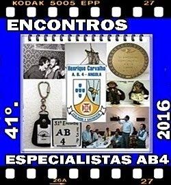 41º - ENCONTROS DOS ESPECIALISTAS DO AB4 - 2016