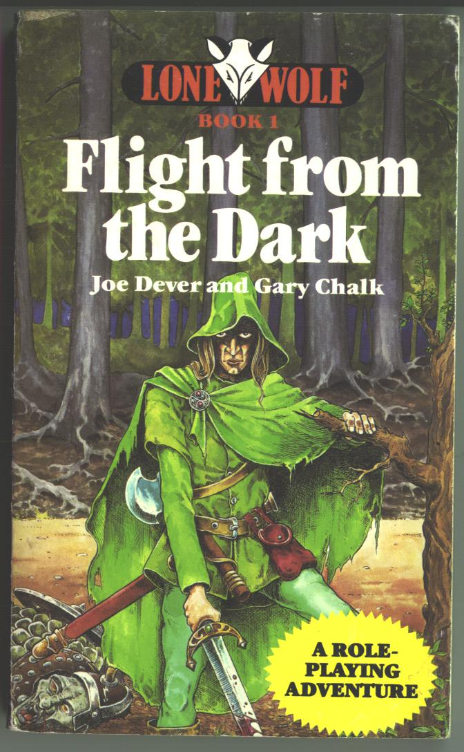 Lone Wolf Flight from the Dark cover