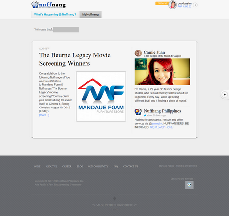 nuffang new login page