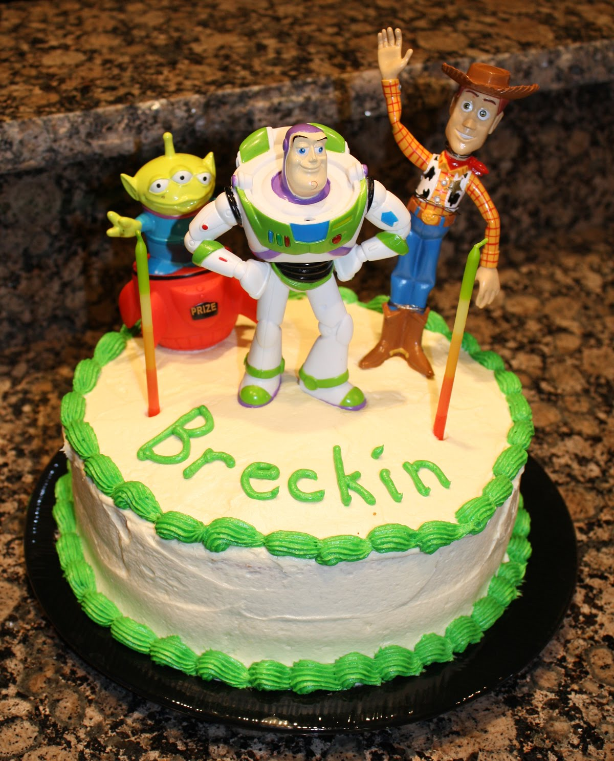 Living And Dyeing Under The Big Sky: Toy Story Birthday Cake