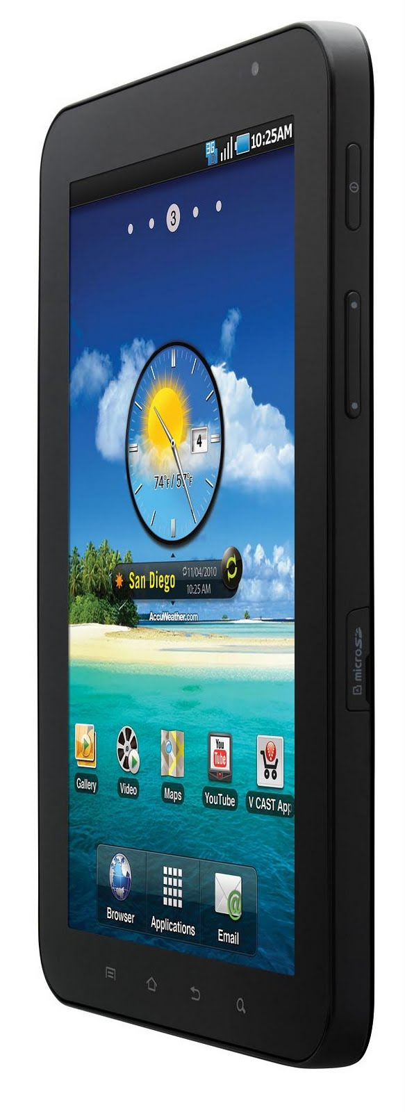 Samsung Galaxy Tab CDMA 70 SCH I800