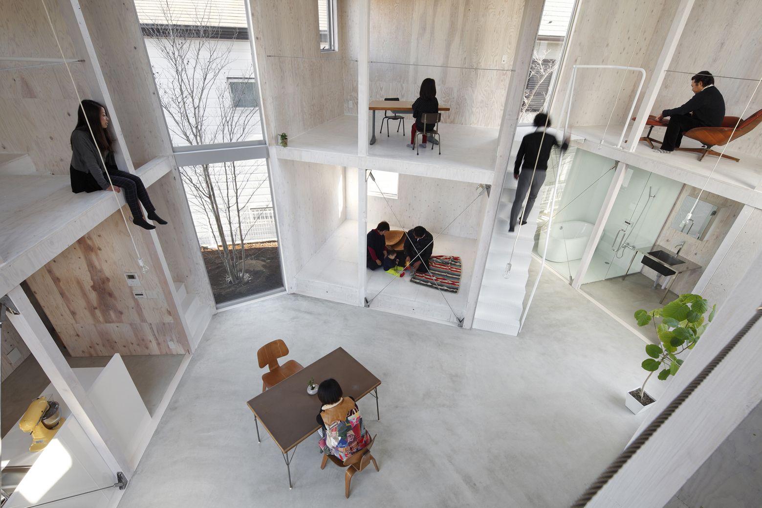 A f a s i a yamazaki kentaro design workshop for Wohncontainer design