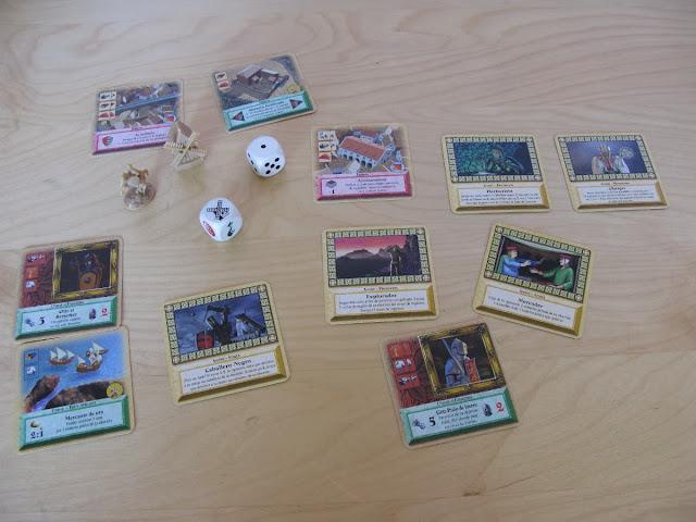 Colonos de Catán - Juego de cartas - Componentes