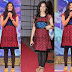 Geeta Madhuri Red Kurthi
