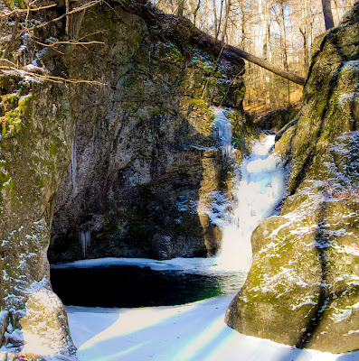 Indian Well Falls - Paugussett Trail Shelton CT