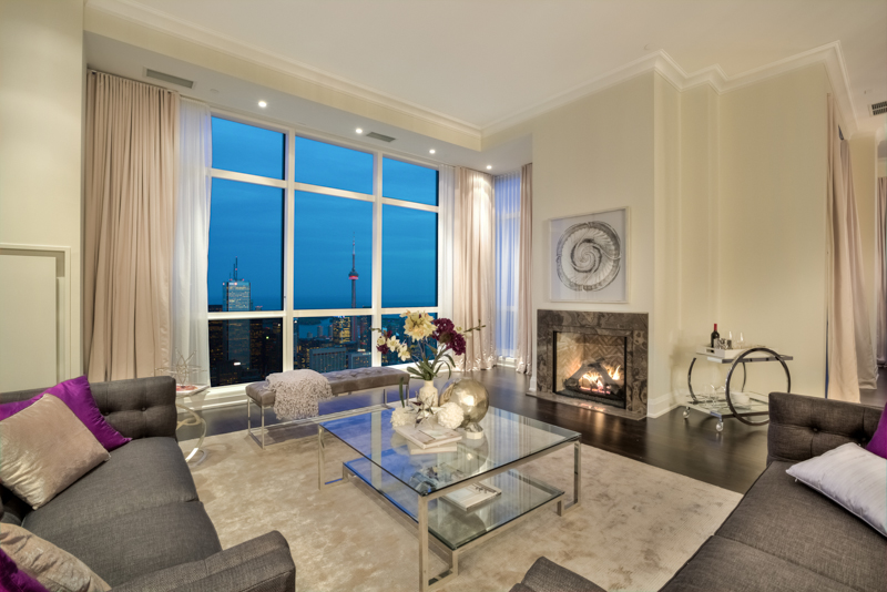 How would you describe the overall look and feel of the Penthouse? It's  very elegant and sophisticated - the high ceilings help with that, along  with the ...