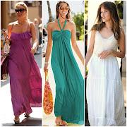 Maxi vestidos lisos de un solo color hola look and fashion maxi vestidos lisos