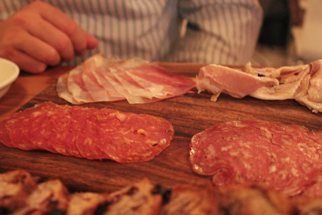 Salumi at Belly, Cambridge, Mass.