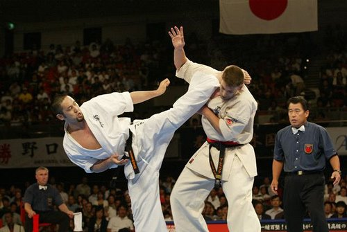 how to win a kyokushin fight
