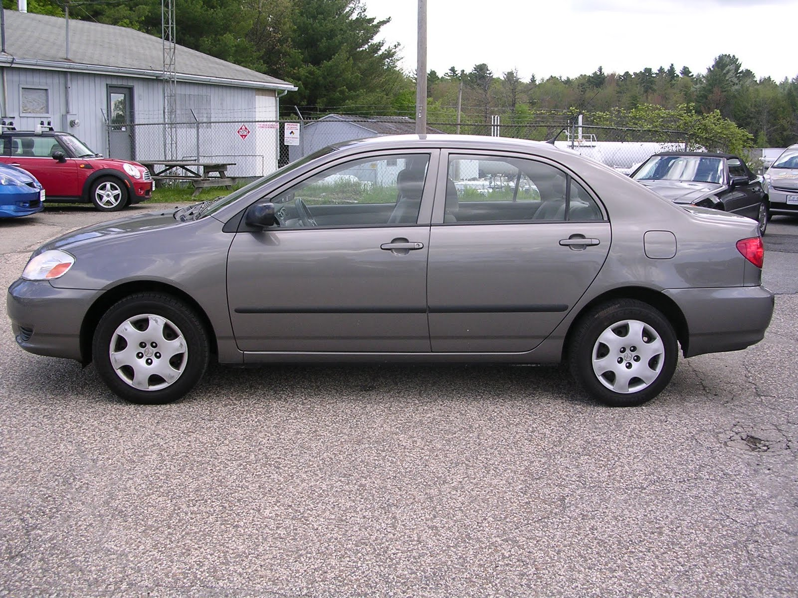 EARTHY CAR OF THE WEEK: 2003 Grey Toyota Corolla CE