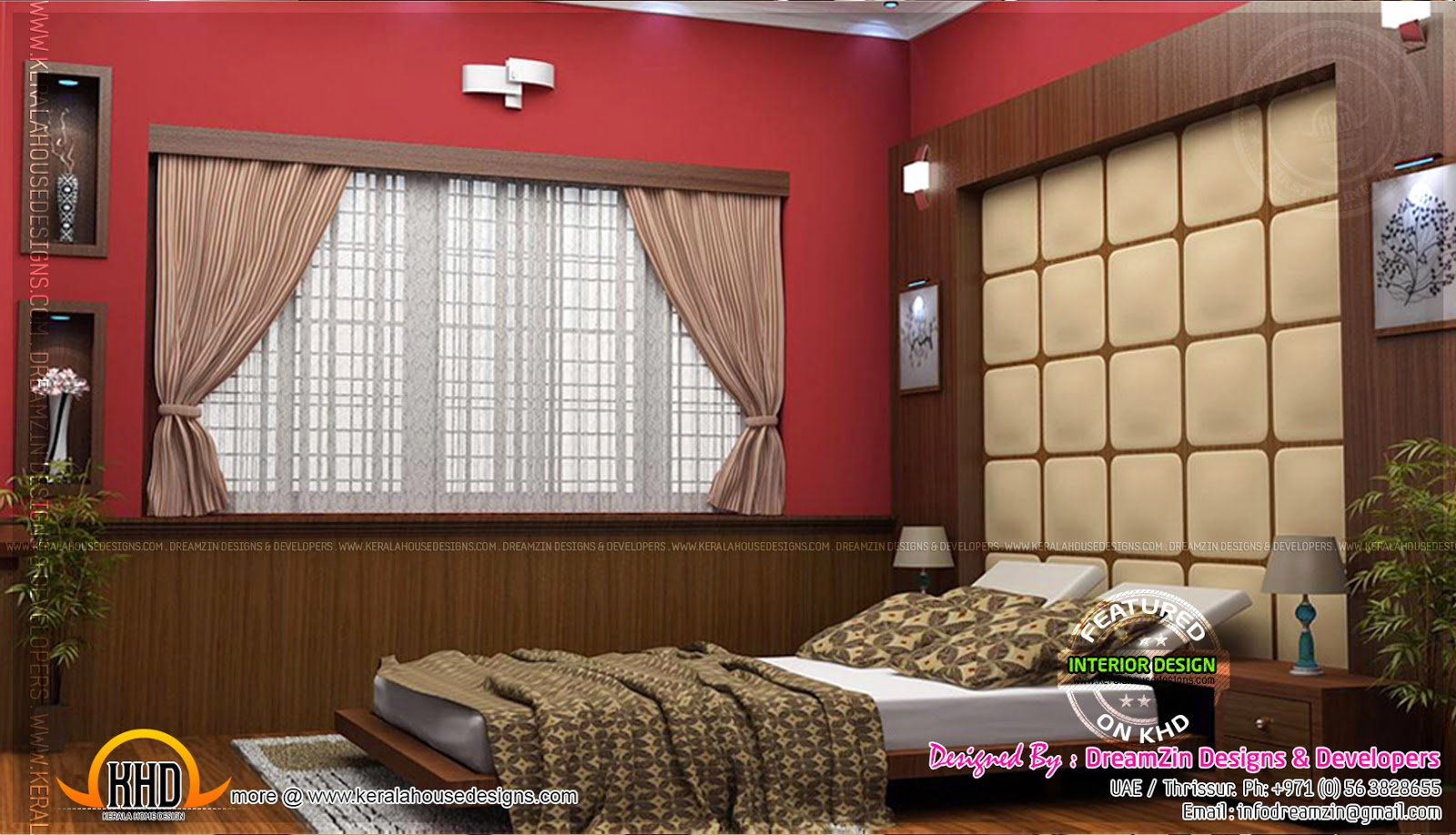 Interior designs by dreamzin designs uae and kerala for Interior designs in kerala