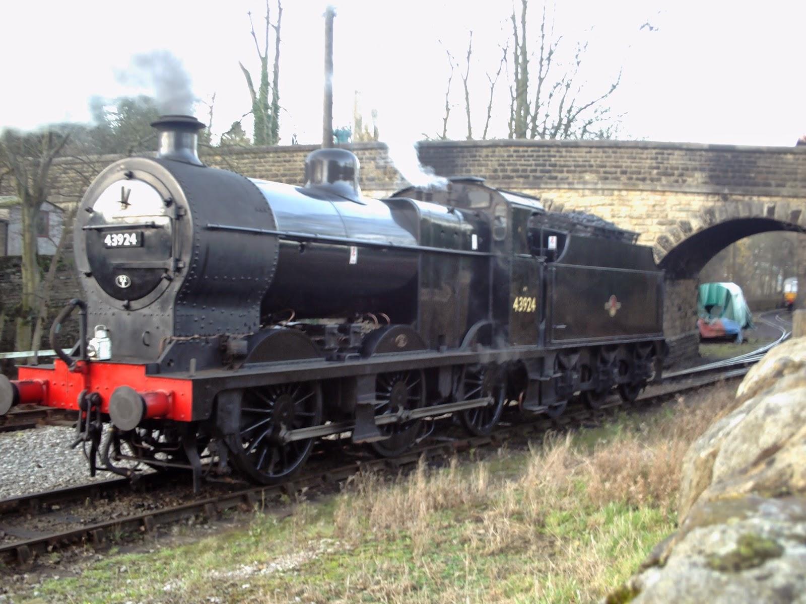 LMS 4F 43924 at Howarth