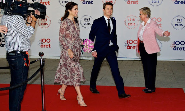 Princess Mary and Prince Frederik, Princess Marie and Prince Joachim attends the parliament and government's celebration of the 100th Anniversary of the 1915 danish constitution