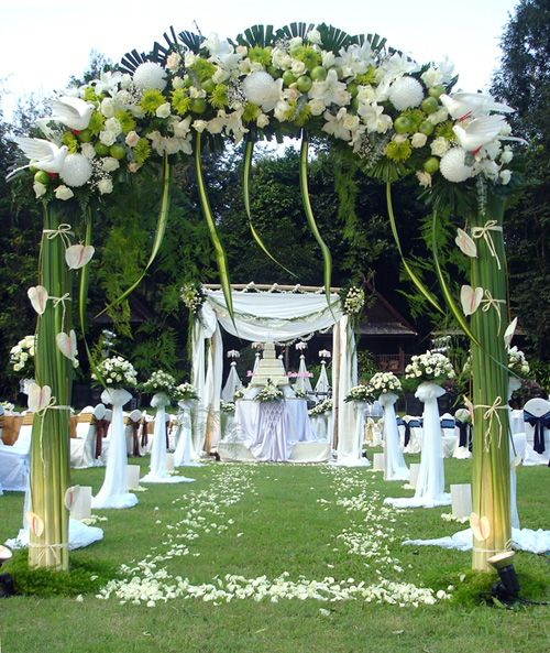 Wedding Altar Outside: Wedding: Find Wedding Decorations Ideas Outdoor