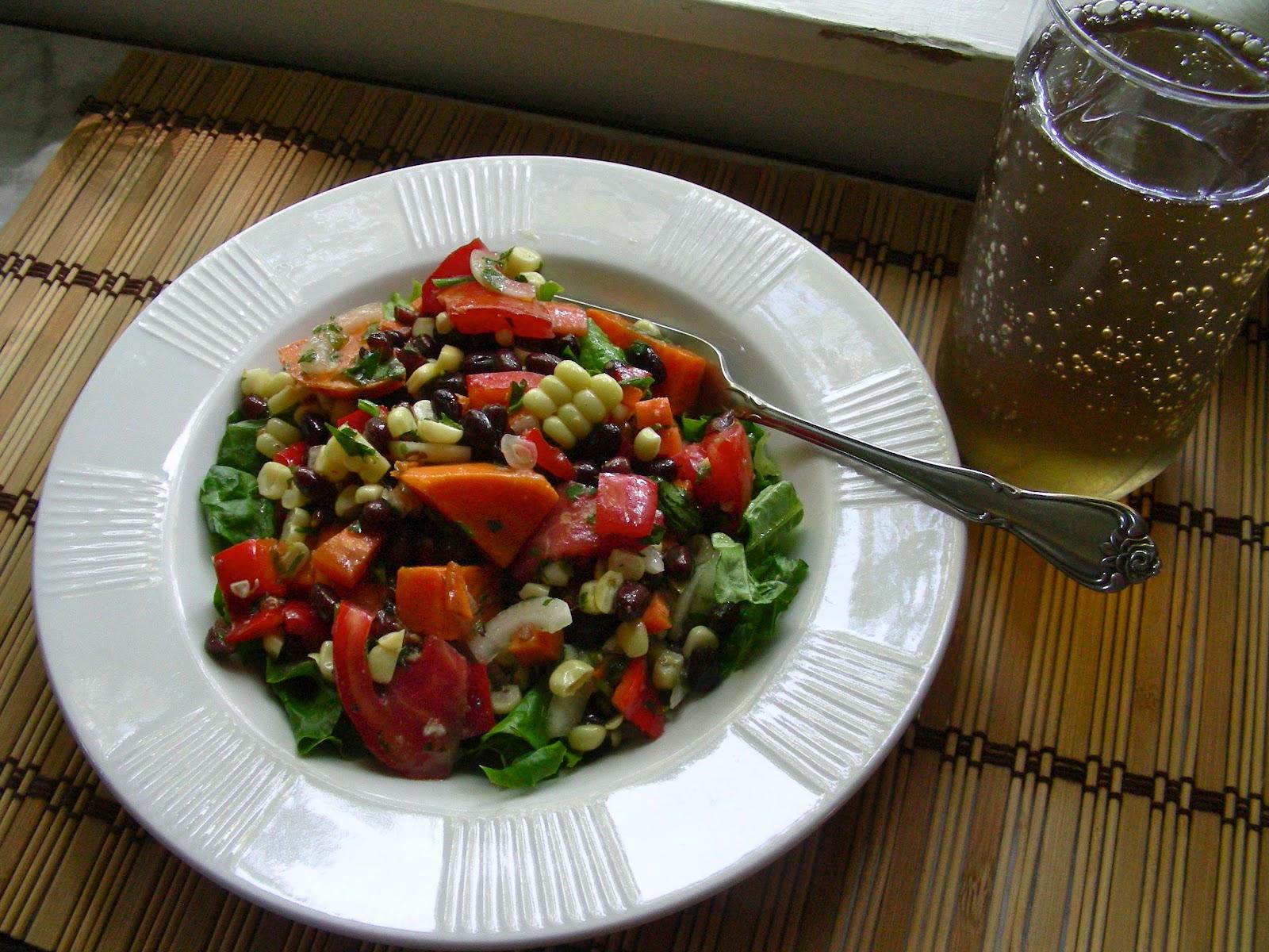 ... Can Cook: Random Food Fridays - Sweet Potato and Adzuki Bean Salad