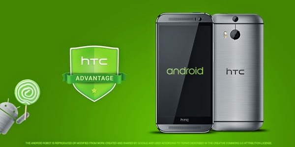 HTC One M7 and M8 to get the Lollipop update in 90 days
