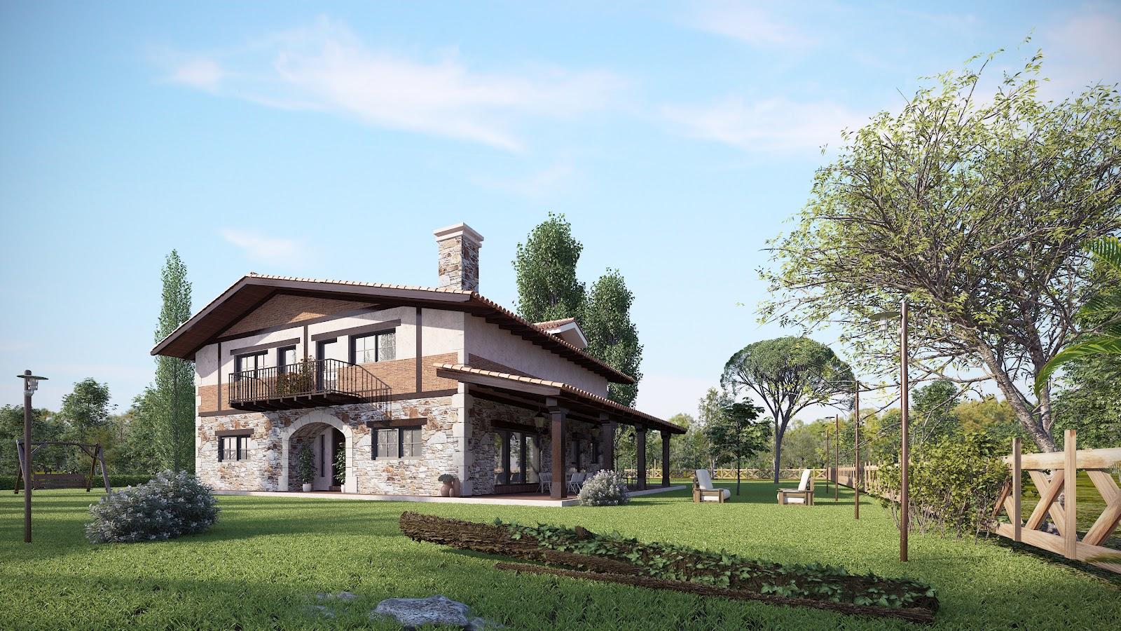 Debate las casas estilo vasco son superiores a las del - Arquitectura pais vasco ...