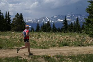 Running in the mountains of Leadville