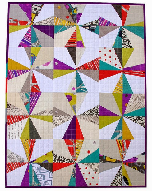 Liberated Star Quilt by Red Pepper Quilts