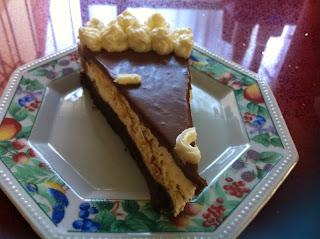 עוגת יום הולדת חגיגית עם קרם ושוקולד