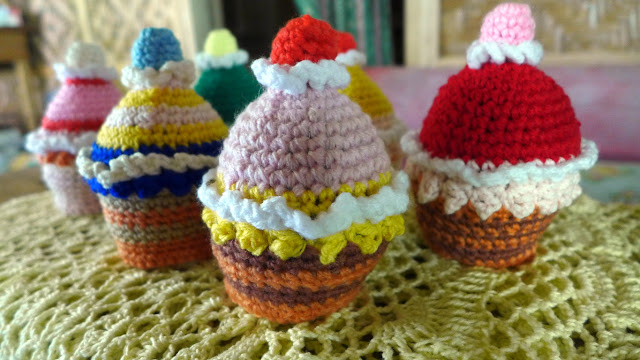 Free pattern crochet food and deserts