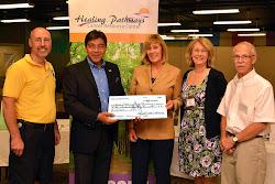 2012 Proceeds to Healing Pathways Cancer Resource Center