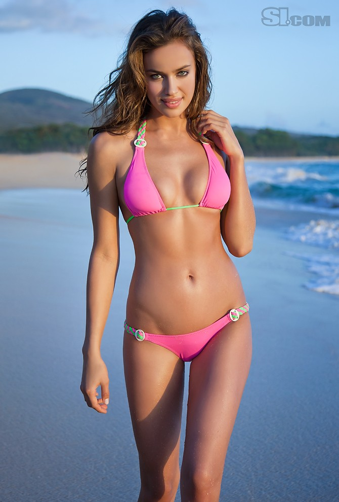 Irina Shayk Sports Illustrated Swimsuit photoshoot 2011