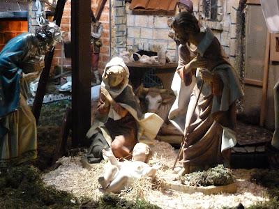 Il presepe francescano del Santuario di Sant'Antonio a Milano