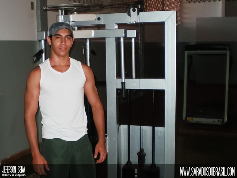 Apaixonado por musculação, Jeferson Sena deseja fazer faculdade de Educação Física