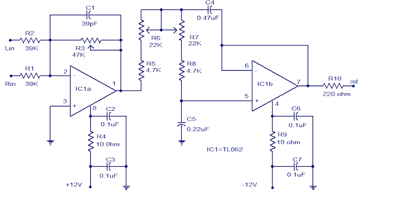 Outstanding Tl062 Subwoofer Low Pass Filter Circuit Diagram Wiring Digital Resources Remcakbiperorg