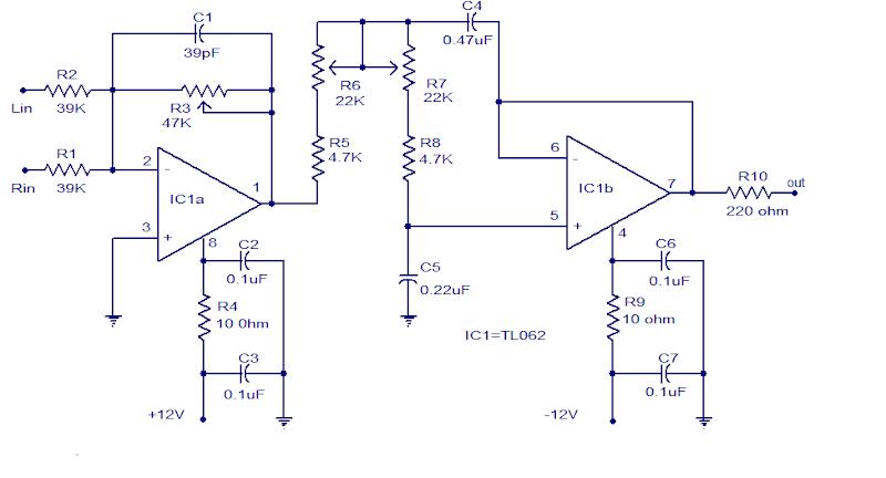 Cool Tl062 Subwoofer Low Pass Filter Circuit Diagram Wiring Digital Resources Unprprontobusorg