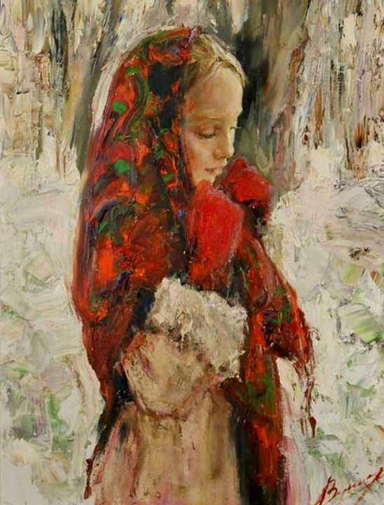 Anna Vinogradova Анна Виноградова 1975 | Russian painter
