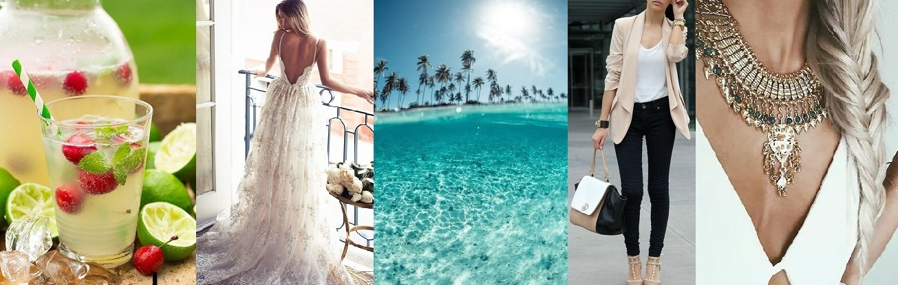 Fashion + Travel + Beauty + Food + Wedding