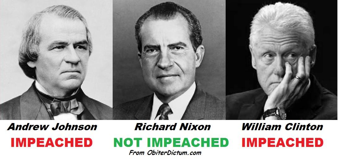 clinton nixon impeachment