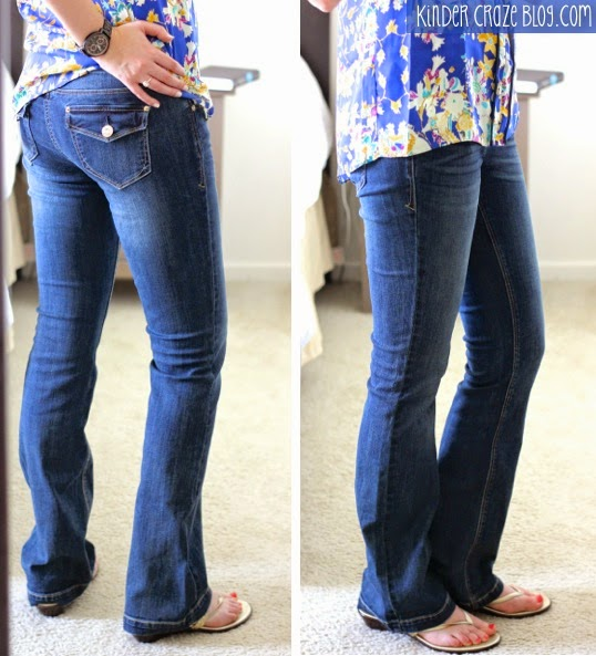 Kensie bootcut jeans from Stitch Fix
