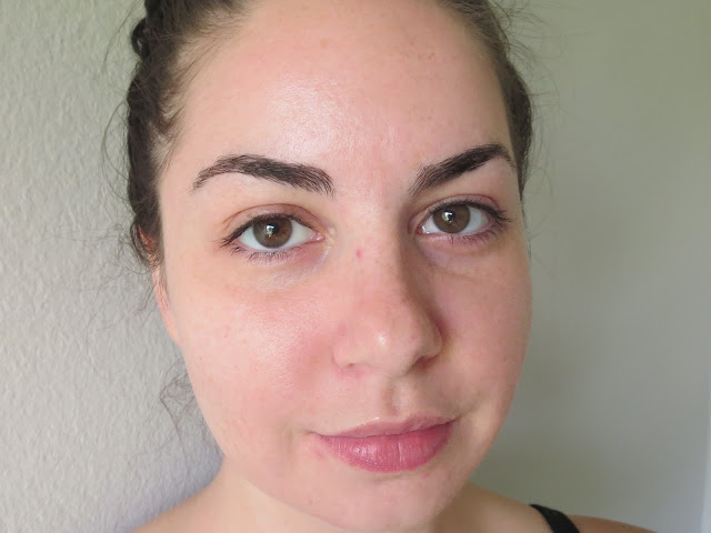 a picture of Before Marcelle BB Cream Matte (no makeup)