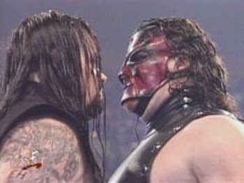 The brothers of Destruction face off