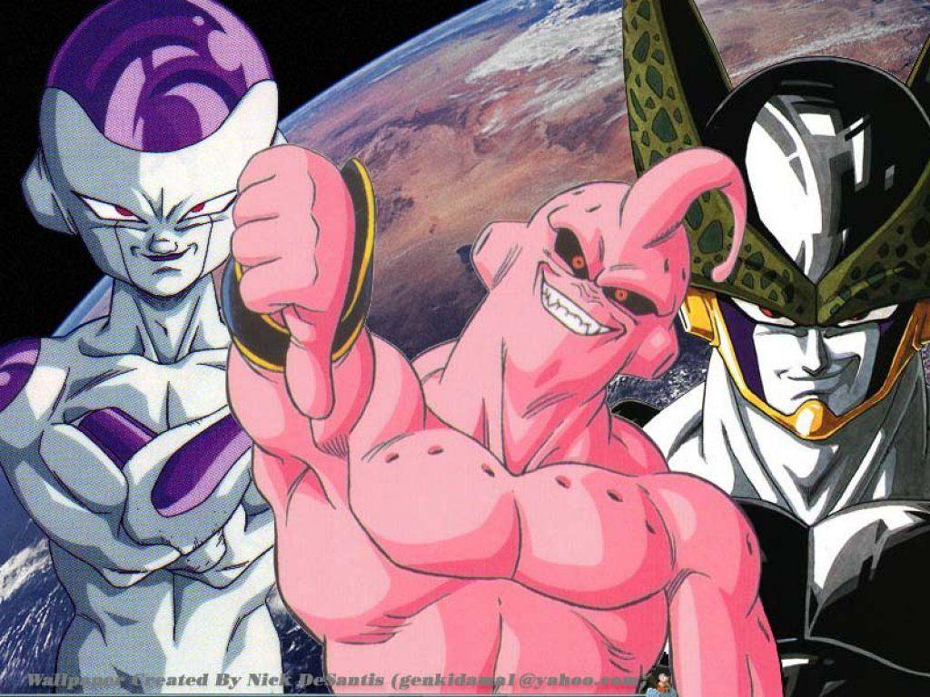 Dragon ball z buu cell freeza - Super cell dbz ...