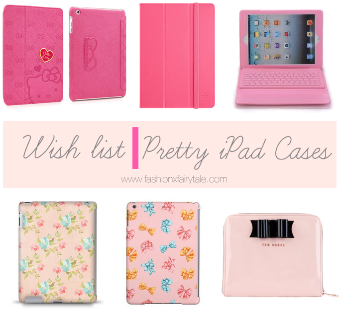 Wish list | Pretty iPad Cases