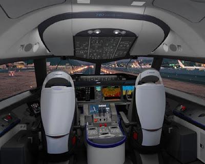 787 flightdeck