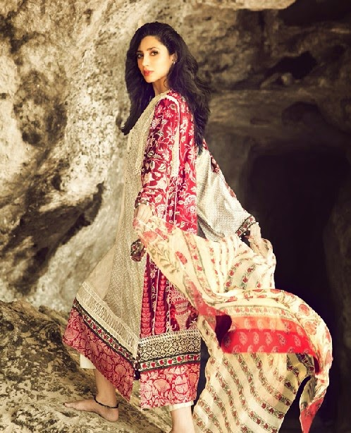 ELANLawnSpring SummerCollection2014 wwwfashionhuntworldblogspotcom 13 - Elan Lawn Spring Collection 2014 By Khadijah Shah